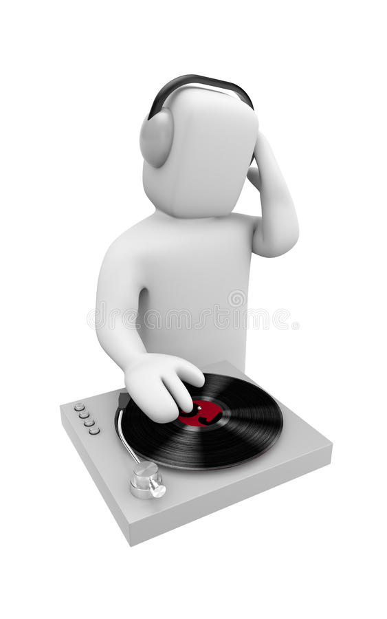 Download DJ Scratched Royalty Free Stock Photos - Image: 13509718