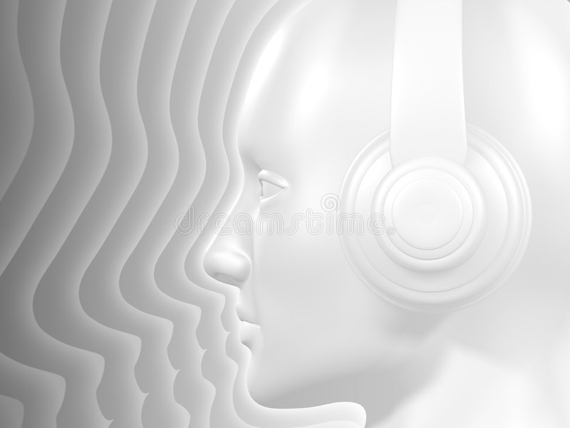 The DJ Sound royalty free stock images