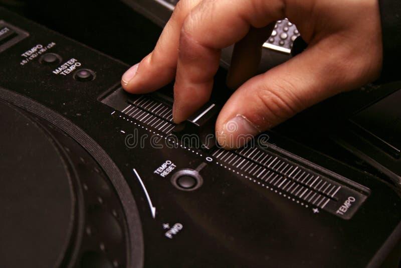 dj-spelare för cd 5 arkivfoton
