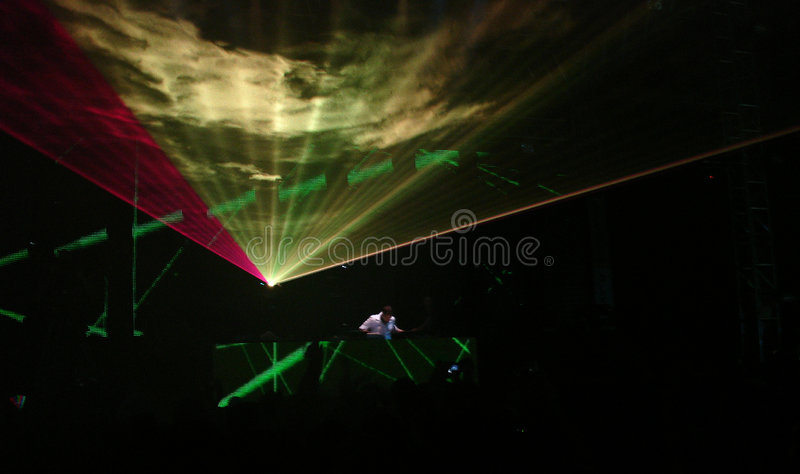 Download Dj at work stock photo. Image of clubbing, silhouette - 2020354