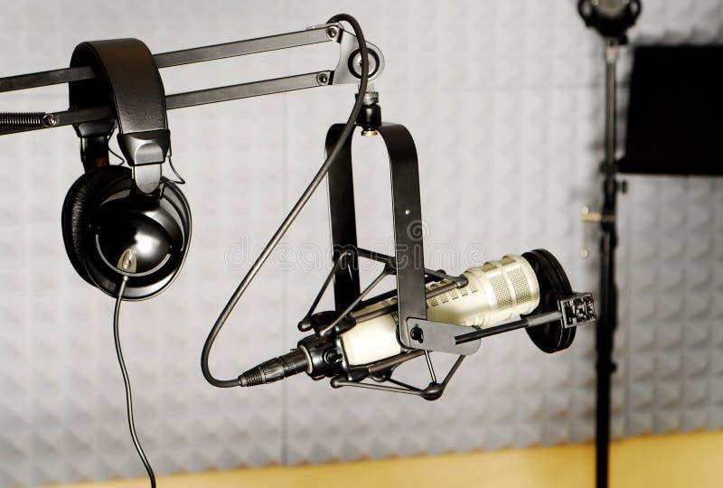 dj wyposażenia radio obrazy stock
