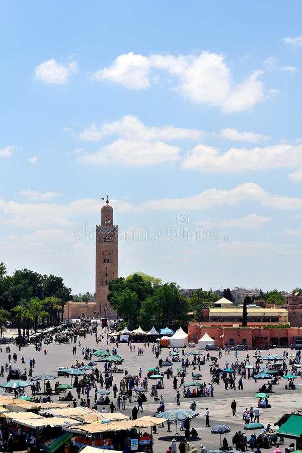 Djemaa el Fna royalty free stock images