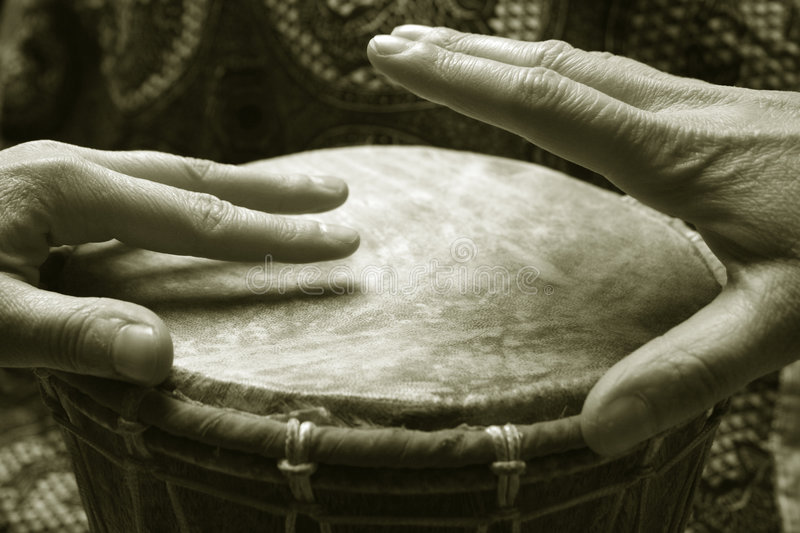 Djembe photo stock