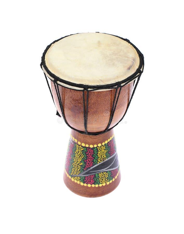 Djembe-Trommel Tam-Tam Getrennt auf weißem Hintergrund stockbilder