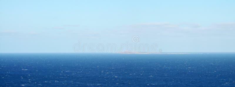 Djeu op zee stock foto's