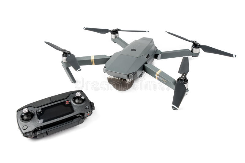 DJI Mavic Pro drone royalty free stock images