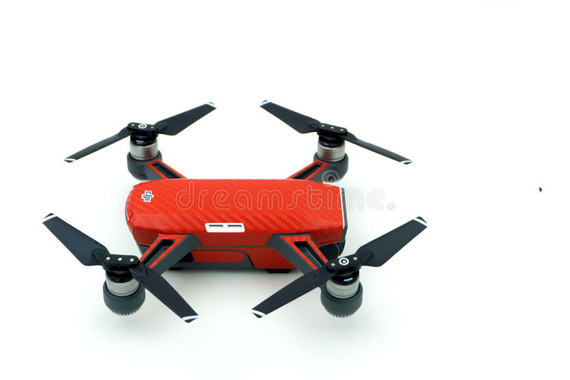 DJI Spark drone start sell in Thailand, Spark is a mini drone fr stock photo