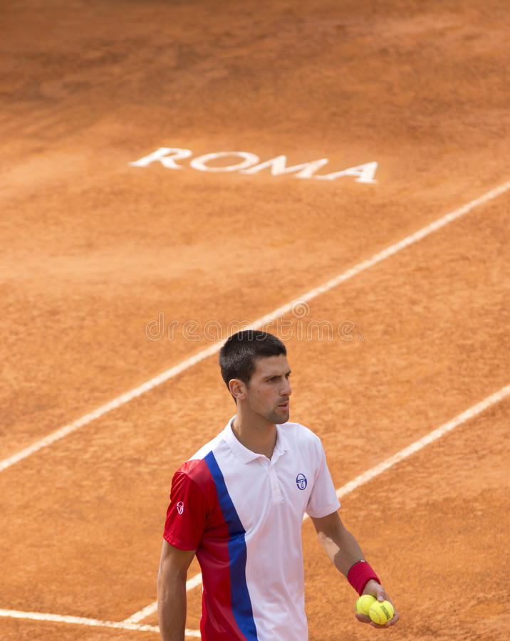 Djokovic photo libre de droits