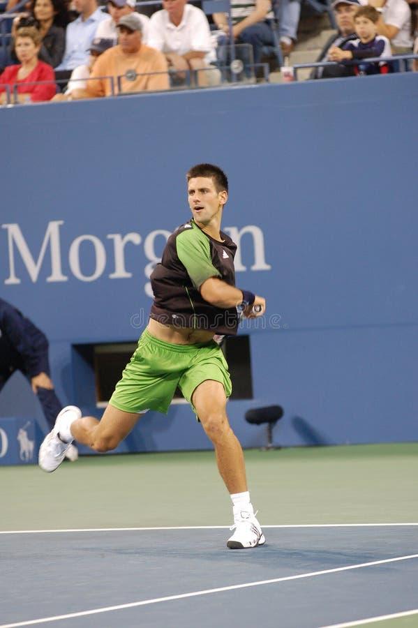 Djokovic Novak aux USA ouvrent 2008 (2) images libres de droits