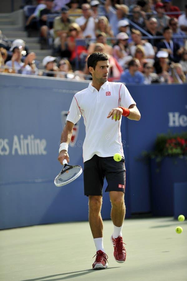 Djokovic Novak (SRB) USOPEN (221) lizenzfreies stockfoto