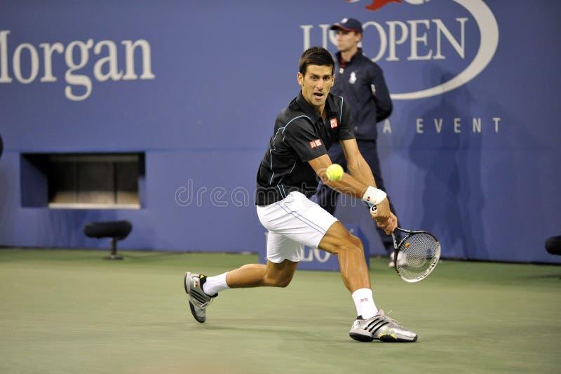 Djokovic us open 2013 (369) fotografia stock