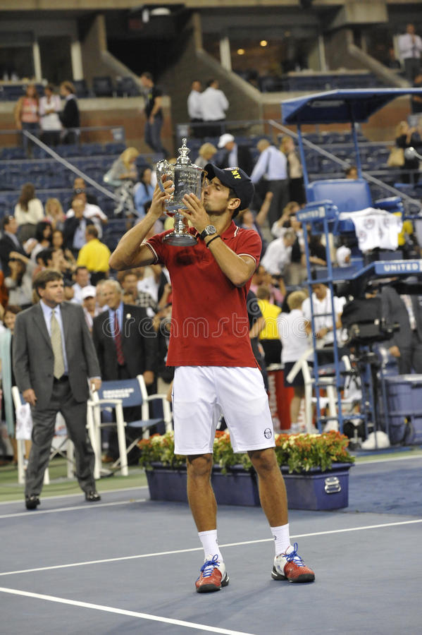 Djokovic Winner Of USOpen 2011 (5) Editorial Stock Photo