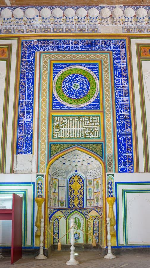 Djome-Moschee in der Archefestung von Bukhara, Usbekistan lizenzfreies stockbild