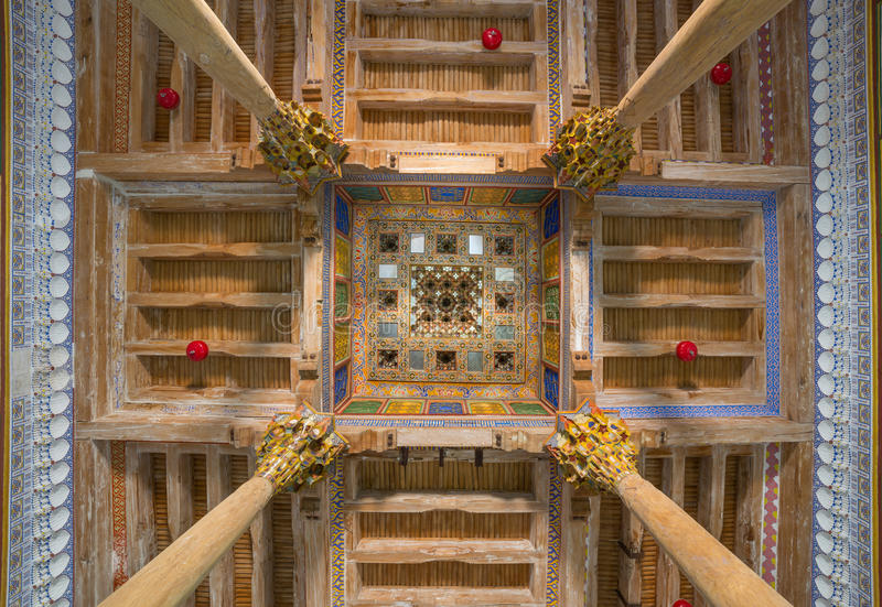 Djome-Moschee in der Archefestung von Bukhara, Usbekistan stockbilder