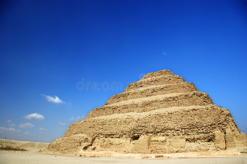djoser βήμα πυραμίδων της Αιγύπτ&omicr στοκ εικόνες