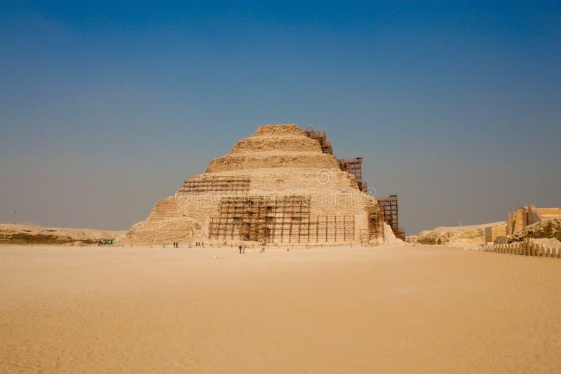 djoser βήμα πυραμίδων στοκ εικόνες