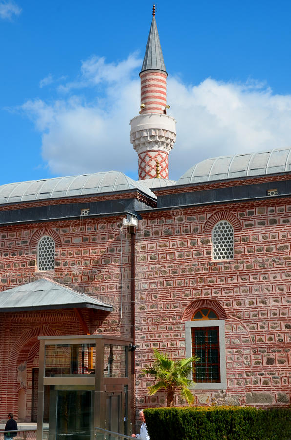 Djumaya Mosque. PLOVDIV BULGARIA SEPT 18: Djumaya Mosque or Ulu Mosque, is a precious architectural monument in Plovdiv that gives an idea of the old settlement royalty free stock photography