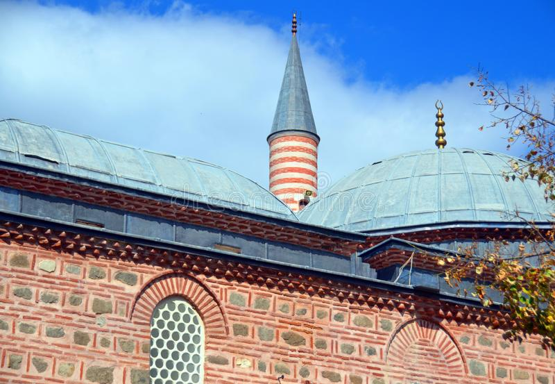 Djumaya Mosque or Ulu Mosque. PLOVDIV BULGARIA SEPT 18: Djumaya Mosque or Ulu Mosque, is a precious architectural monument in Plovdiv that gives an idea of the royalty free stock photos
