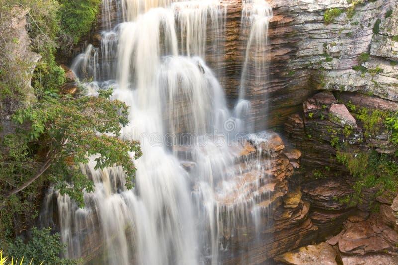 djungelvattenfall fotografering för bildbyråer