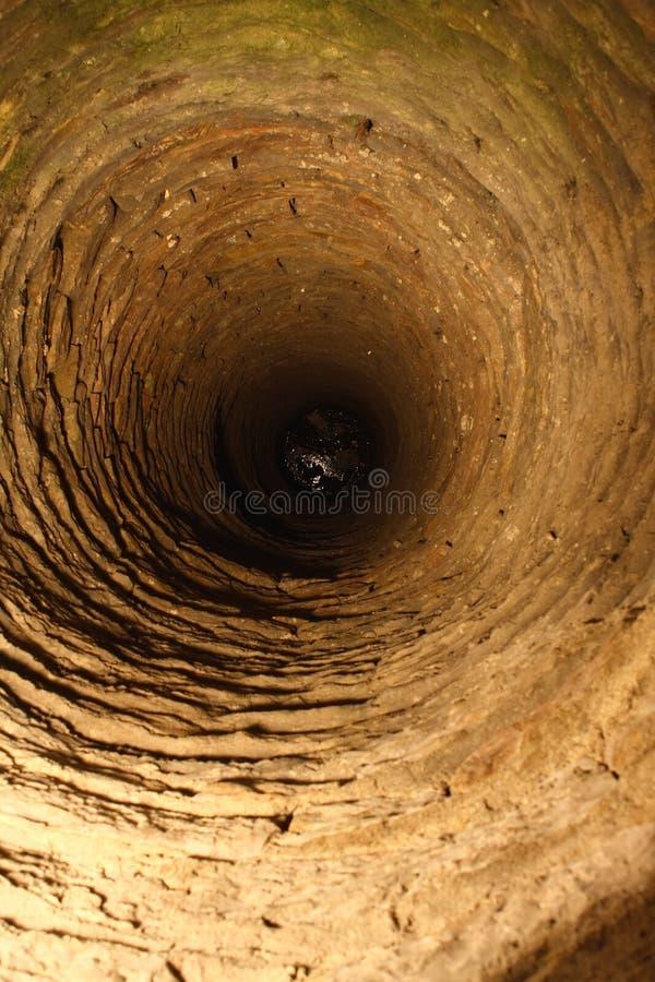 djup medeltida well 2 fotografering för bildbyråer
