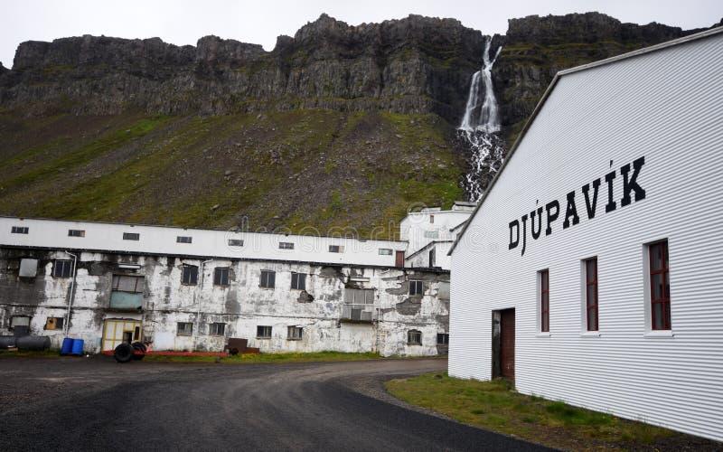 Djupavik, Islandia fotografía de archivo