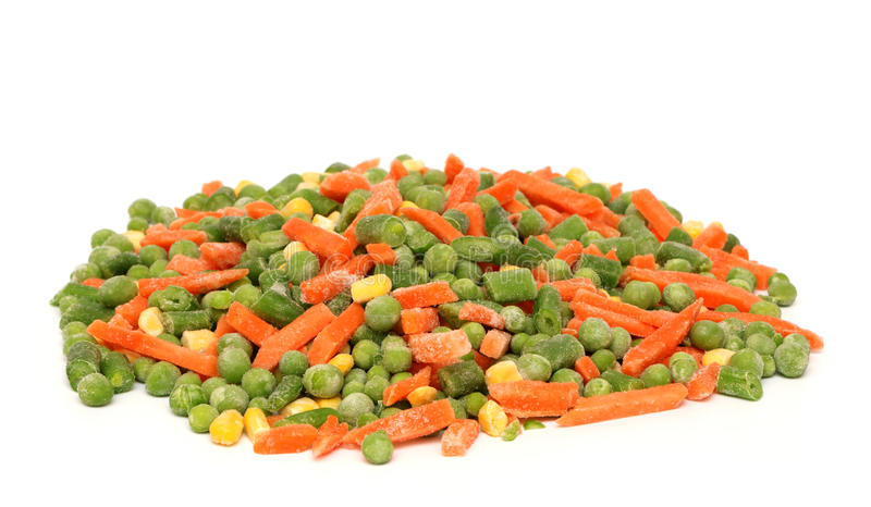 djupfryst blandade grönsaker royaltyfri foto