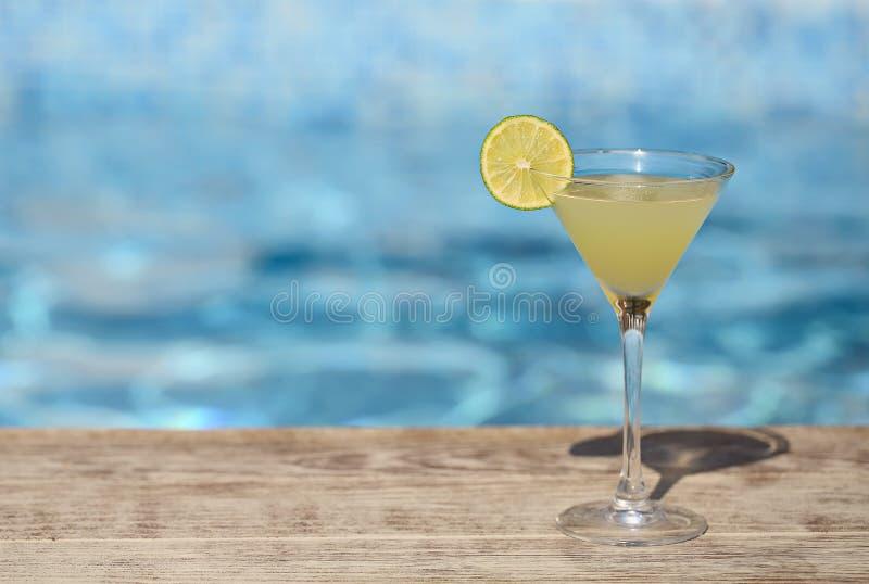 Djupfryst coctail för Daiquiri med limefrukt arkivfoton
