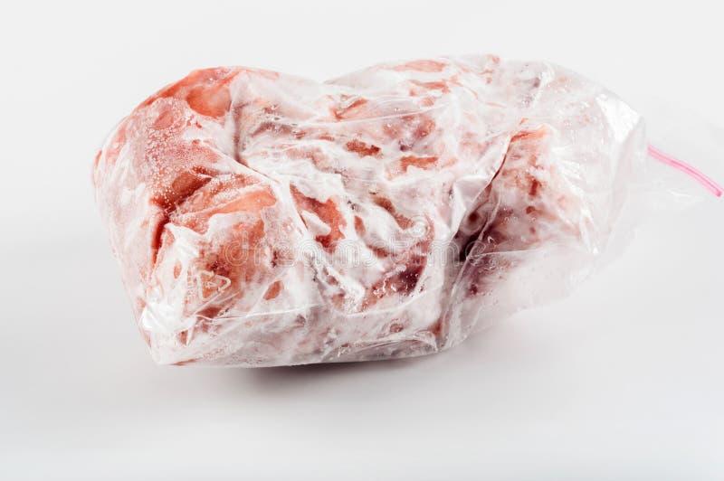 Djupfryst kött arkivfoto