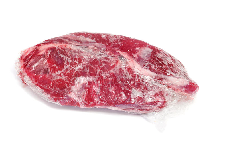 djupfryst meat royaltyfria bilder