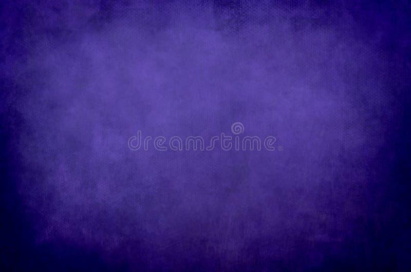 Djupt - abstrakt kanfasbakgrund för lilor royaltyfri bild
