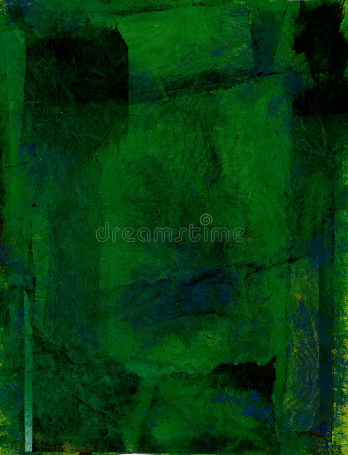 djupt - green royaltyfri illustrationer
