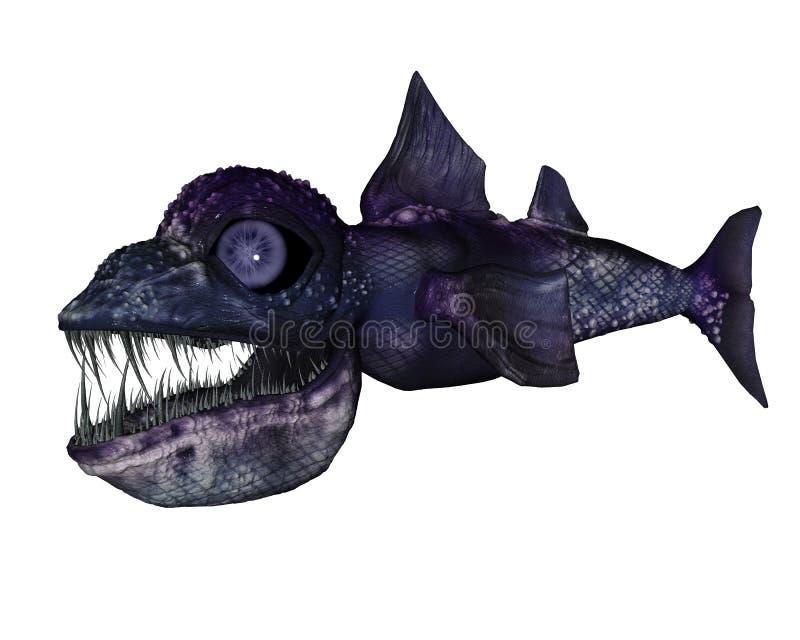 djupt hav för varelse vektor illustrationer