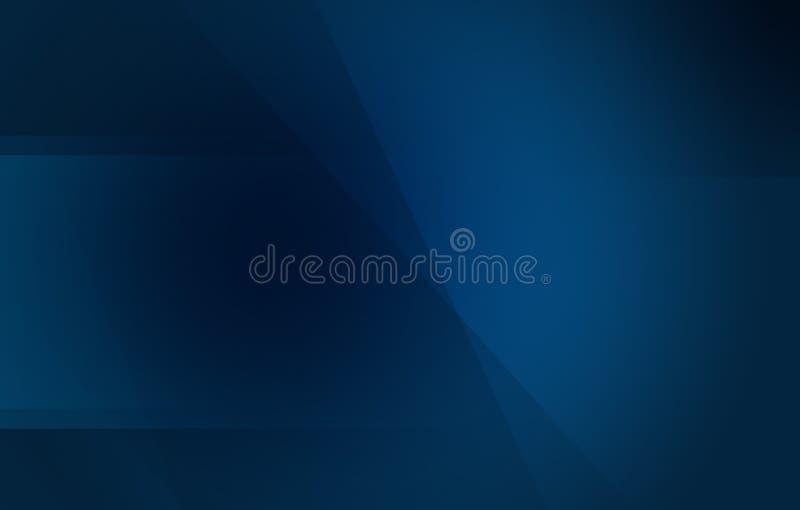 Djupt mörker - bakgrund för blå svart royaltyfri illustrationer
