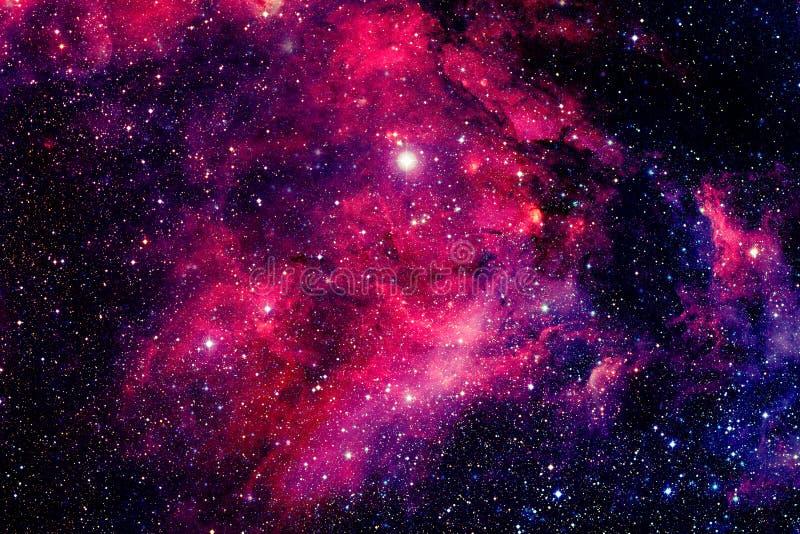 djupt nebulaavstånd Beståndsdelar av denna avbildar möblerat av NASA royaltyfri fotografi