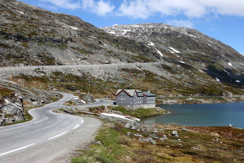 Djupvatnet jezioro Norwegia zdjęcia royalty free