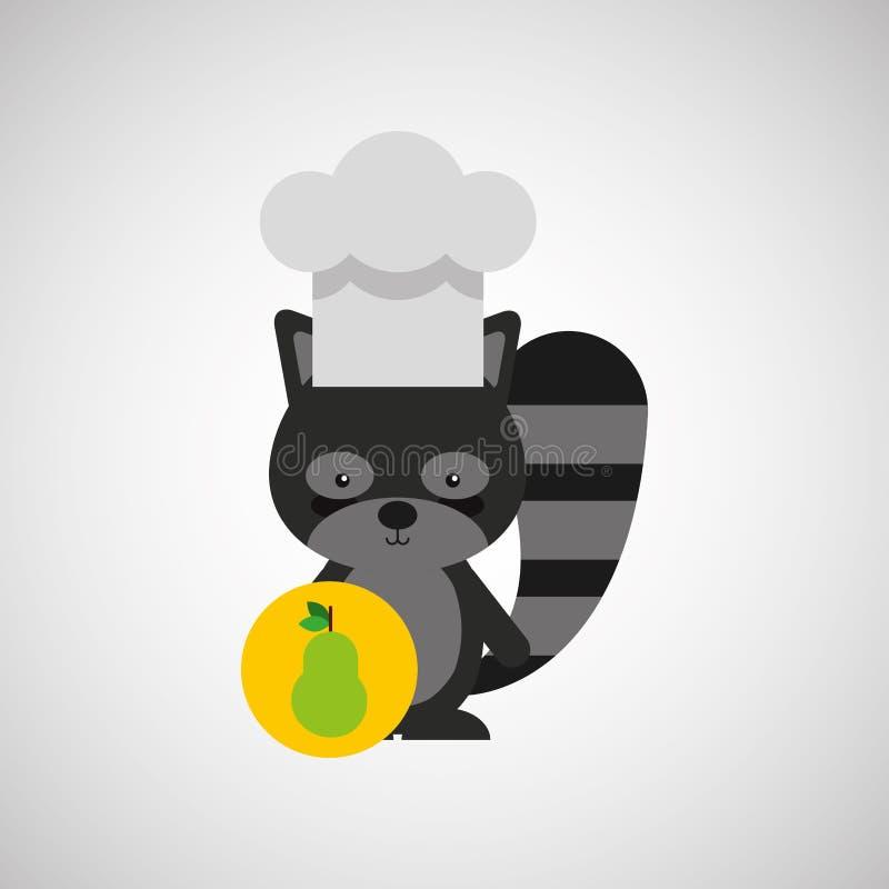 djur design för kock vektor illustrationer