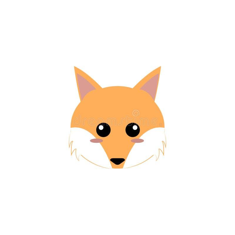 Download Djur gullig framsida vektor illustrationer. Illustration av fauna - 106827809