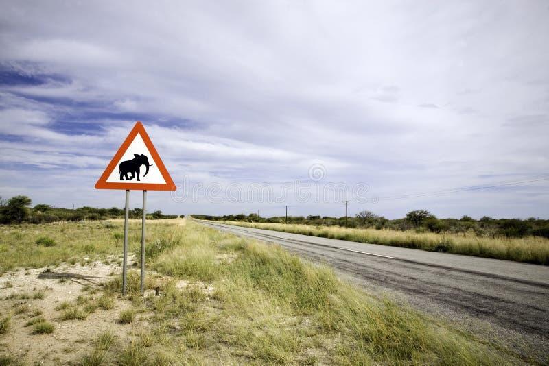 Djur signpost arkivbilder