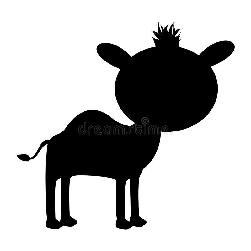 Djur symbolsbild för kamel royaltyfri illustrationer