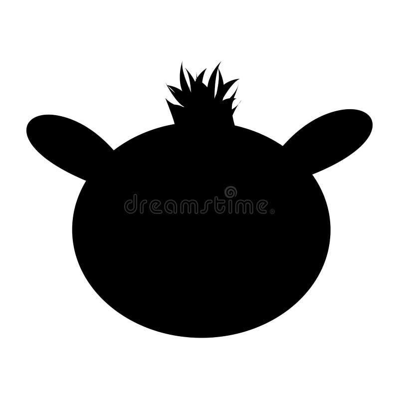 Djur symbolsbild för kamel vektor illustrationer