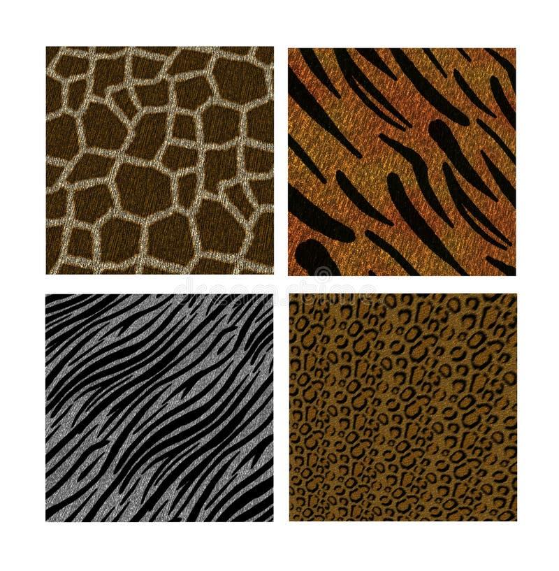 djura bakgrunder stock illustrationer