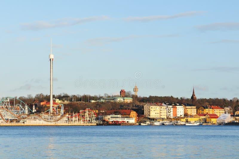 djurgarden stockholm fotografering för bildbyråer