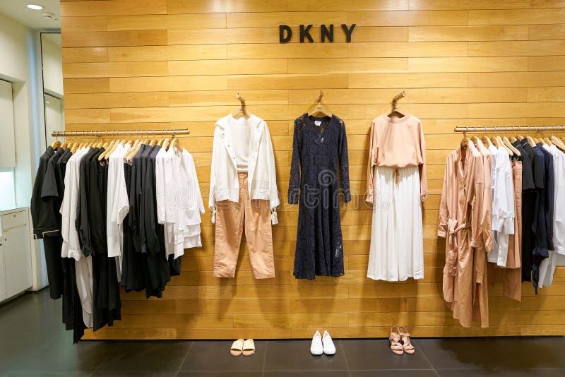 DKNY-lager royaltyfri bild