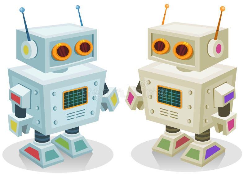 Dla Dzieci robot Zabawka ilustracji