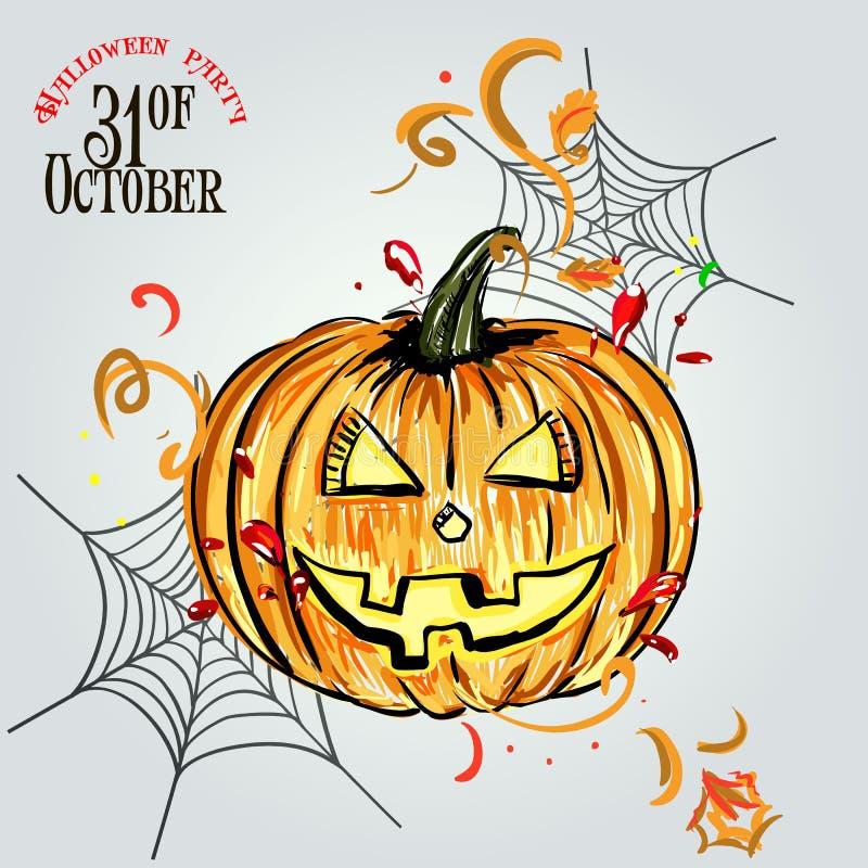 Dla Halloween ustalone banie zdjęcie stock