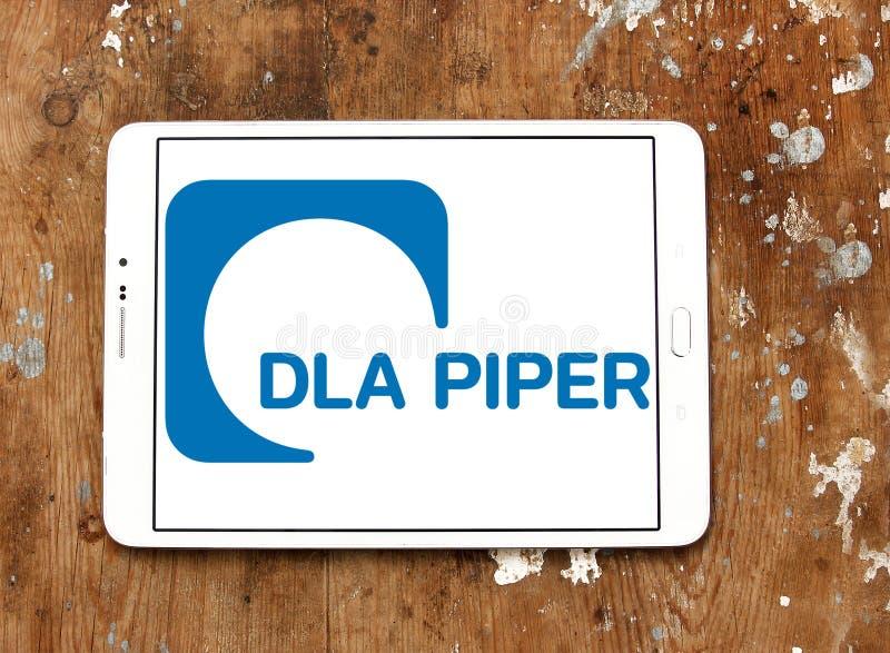 DLA-het embleem van het Pijperadvocatenkantoor stock foto's
