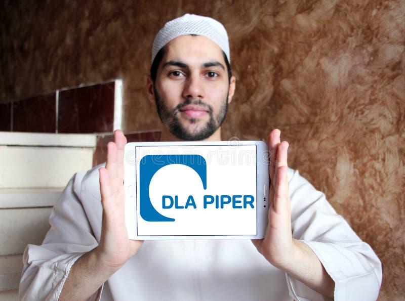 DLA-het embleem van het Pijperadvocatenkantoor stock afbeeldingen