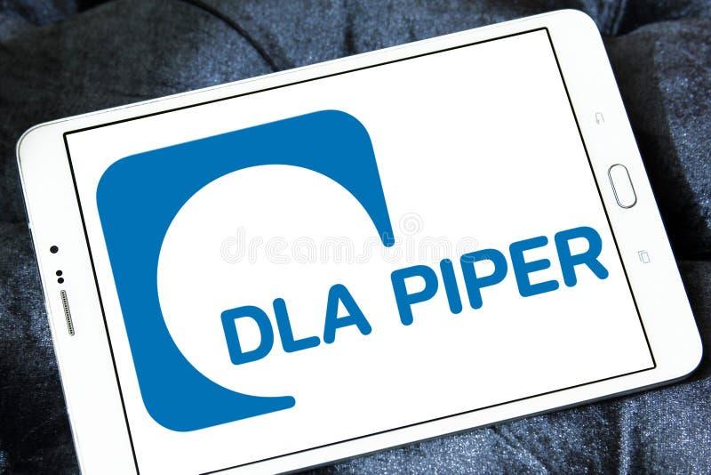 DLA-Pfeifer-Sozietätslogo stockbilder