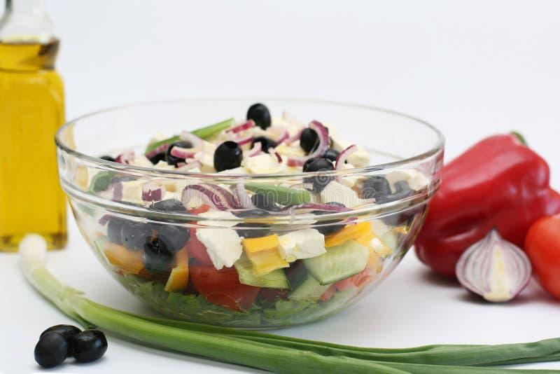 Dla sałatki warzywa zdjęcia royalty free