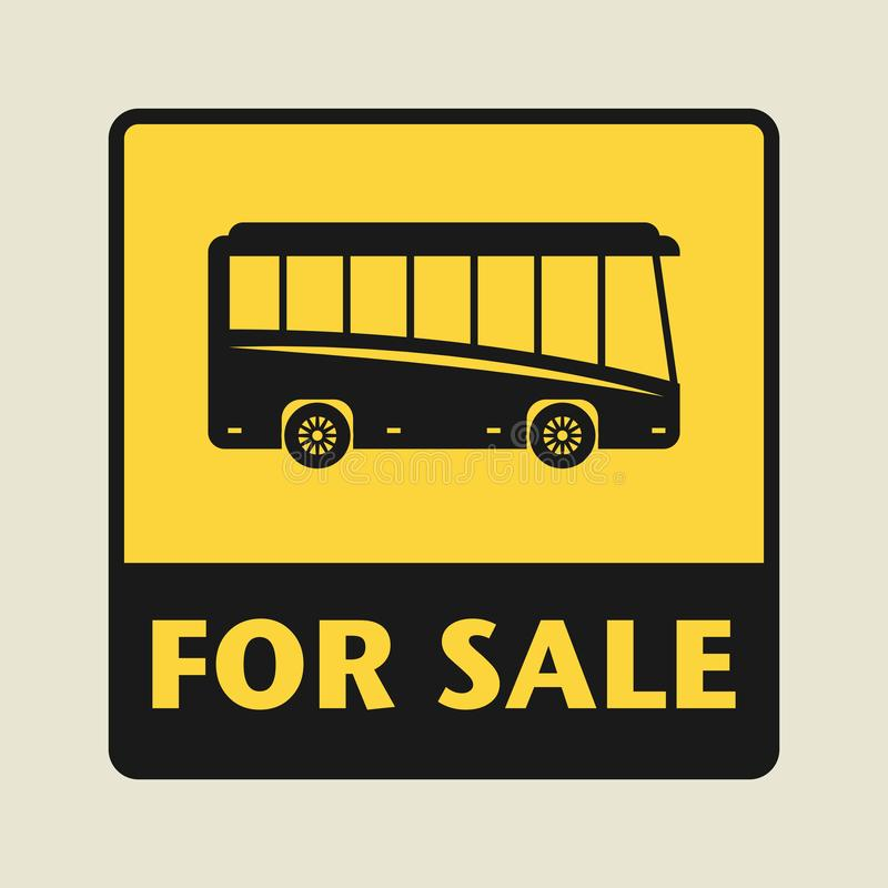 Dla sprzedaż znaka lub ikony ilustracji